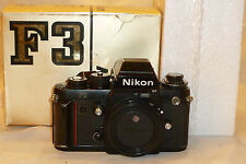 NIKON F3HP 35mm SLR Film Camera W/ box