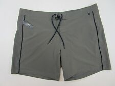 Lands End  Mens Gray Swimsuit Board Shorts  Size XL 40/42 NWT
