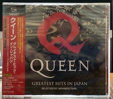 Queen - Greatest Hits in Japan SHM CD + DVD NEUF