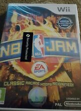 NBA JAM NINTENDO WII BASKETBALL RETRO REMAKE SEALED NEW