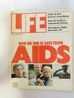 LIFE MAGAZINE, JULY 1985, NOW NO ONE IS SAFE FROM AIDS, KOKO THE GORILLA, PROM!