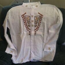 Shirt, Unique Ecuadorian Style Size L (Shirt #12)