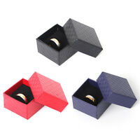 1/5/10Pc Paper Cardboard Necklace Ring Earring  Jewelry Display Case Storage Box
