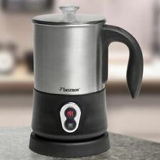 Design Milch Aufschäumer Kaffee Cappucino Edelstahl Behälter 425 ml Küchengerät