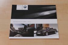 84244) BMW 3er Reihe E92 Cabrio - individual - Prospekt 01/2009