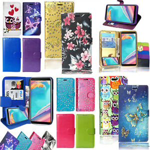 For Samsung Galaxy J3 2017 & J5 2017 Leather Magnetic Wallet Flip Case Cover