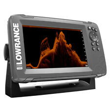 LOWRANCE HOOK 7X  GPS SPLITSHOT FISHFINDER W/TRACK PLOTTER  000-14020-001