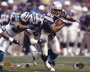 Troy Brown New England Patriots Super Bowl XXXVIII 8x10 Photo