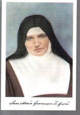 606 Madre Francesca Rubatto Suor Maria Francesca di Gesù  Santino Holycard