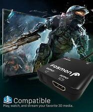 Hdmi a HDMI + 4K SPDIF óptico Toslink Divisor Extractor Convertidor de Audio estéreo