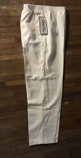 BEND OVER PANTS Sz 14 Cream NEW