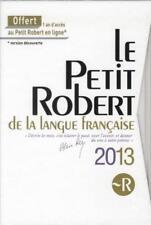 petit Robert 2013   coffret Collectif Occasion Livre