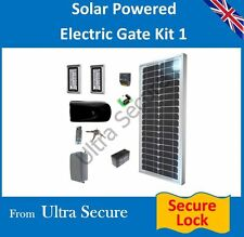 Solar Powered ELECTRONIC GATE LOCK & Tastierino Digitale release KIT 4