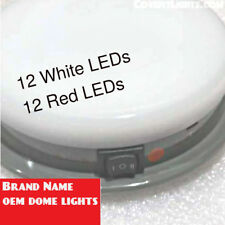 SoundOFF Signal DOME LIGHT RED White LED Light Police Package Plug Ticket