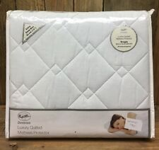 Mattress Protector Downview Luxury Quilted Single Extra Deep Box Heavyweight