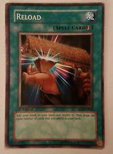 Yugioh TCG Reload Spell Card 1st Edition SDI EN019 LP