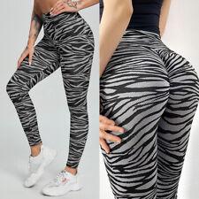 Womens Butt Lift Yoga Pants High Waisted Leggings Scrunch Workout Booty Trousers