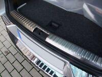 Für VW Tiguan Ladekantenschutz Innen+Außen Edelstahl Abkantung Chrom 4-Teilig-