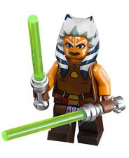 LEGO Star Wars Clone Wars - Rare - Ahsoka Tano w/ Sabers 75013 - Excellent