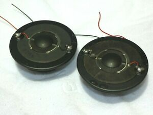 2 x Celestion HF2000 Super Tweeters For Use In Ditton 25, 44 & 66 Loudspeakers