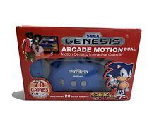 Sega Genesis Arcade Motion Dual Interactive Video Game Console Mint Complete