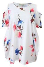 Camisa de mujer de color principal beige talla M