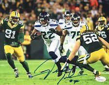 Fred Jackson Seahawks Signed Autographed 8x10 Photo #1 JSA