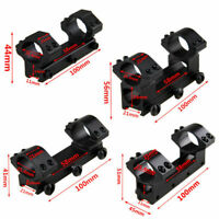 25.4mm High/Low Rifle Scope Mount Dual 1'' Ring 11mm/20mm  Dovetail Rail 100mm