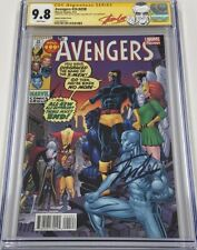 Avengers #24 Art Adams Variant Signed Stan Lee on His 91st Birthday CGC 9.8 SS