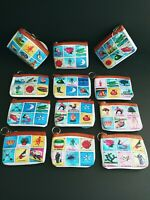 12 Pc La Loteria Mexican Bingo Coin Bag La Dama Keychain Party Favors Recuerdos