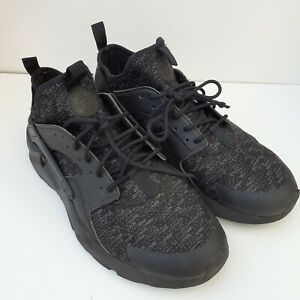 Nike Air Huarache black trainer running size 8.5 sneakers 875841 006