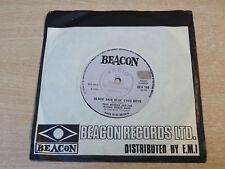 """TONY MORGAN & LA COZZA della fascia di potenza/Pelle Nera Blue Eyed RAGAZZI/1972 7"""" singolo"""