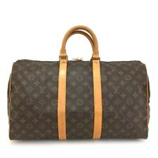 100% Authentic Louis Vuitton Monogram Keepall 45 Boston Travel Hand Bag /107HE