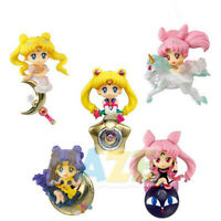5pcs/set Sailor Moon Sailor Tsukino Usagi Chibiusa Q Ver .Figure Model Toy