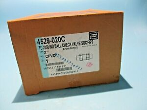 """NEW SPEARS 4529-020C TU2000 BALL CHECK VALVE SIZE 2""""IN"""