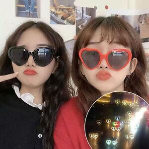 Heart Shape Frame Diffraction Glasses Fireworkk Refraction Party Eye-wear Gift