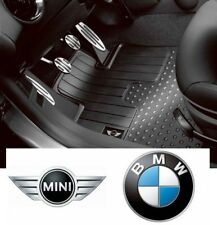 Mini R59 Genuine Logo All Weather Rubber Floor Mats Set/kit Front 51472243913