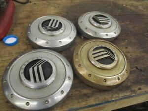 4 Mercury Mountaineer Wheel Center Caps 02 03 04 05 3L24-1A096-DA Hubcaps OEM