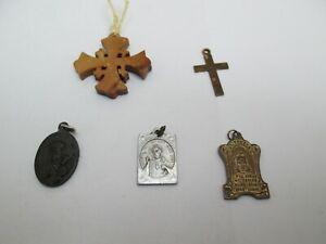 5 RELIGIOUS PENDANTS