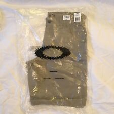 "Oakley Fingerprint 2.8 Mens New Khaki 30"" Shorts BNWT Loose Fit Golf Pants BN sm"