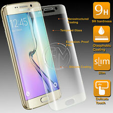 Extra Thin & Slim 0.2mm Full Glass Bubble Free Saver For Samsung S6 Edge