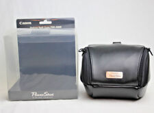 New Canon Deluxe Soft Leather Case PSC-4000 for S2 IS, S3 IS, S5 IS, SX10 IS