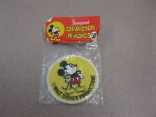 NEW Character Patches Disneyland Walt Disney Productions MICKEY MOUSE Single