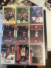 MICHAEL JORDAN  1984 Star, 1986 Fleer Reprints. Other Cards Originals