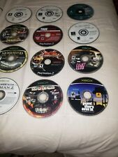 Playstation 1 & 2 & Original XBOX *UNTESTED* DISC LOT OF 28 PARTS OR REPAIR