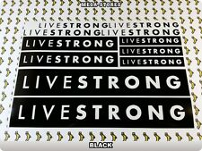 LIVESTRONG Stickers Decals  Bicycles Bikes Cycles Frames Forks Mountain BMX 56E