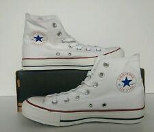 Converse Chuck Taylor All Star Hi Blanco Talla 8 Reino Unido M7650C