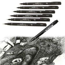 1 Pc Pro Uni Pin Drawing Pen Fine Line 005/01/02/03/05/08 Needle Pen Neu