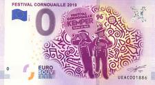 29 QUIMPER Festival de Cornouaille, 2019, Billet 0 € Souvenir