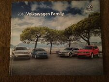 2018 VOLKSWAGEN VW Family FULL LINE  BROCHURE MINT! 30 PAGES LOOK WoW Nice !!!